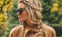 Peinados pelo largo ideas pinterest trenza ladeada 8ec436a5 582x350