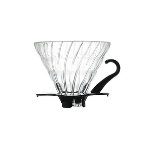 Hario V60 02 Black Glass Dripper