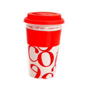 Waechtersbach Coffee-Script-Collage Travel Mug