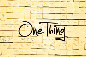 The One Thing