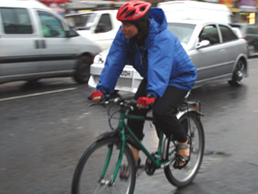 Cycling in winter can be fun - and keep you warm