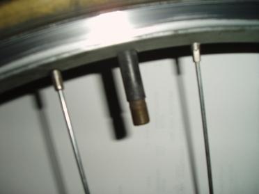 A Schraeder valve