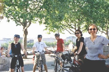 Meeting for a Lambeth Cyclists ride. Credit: Philip Loy