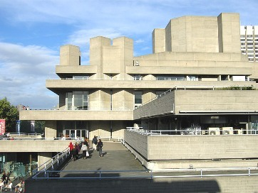 (National Theatre, South Bank, Lambeth)