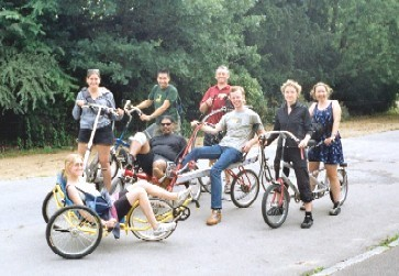 Photo: Lambeth Cyclists and friends