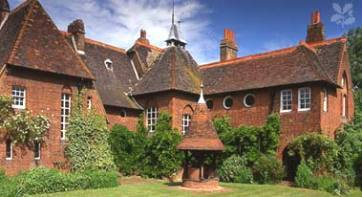 The Red House, home of William Morris, architect: Philip Webb