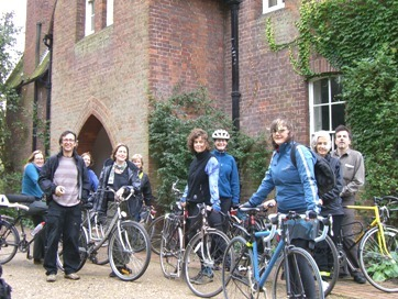 Getting ready for the great trek north to Walthamstow and the William Morris Museum.