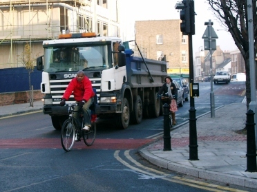 Cyclists need more protection from HGVs
