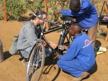 Training Mechanics in Zambia