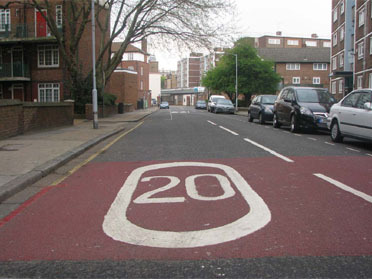 20mph speed limits