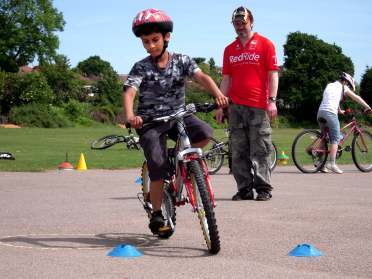Bromley cyclists training