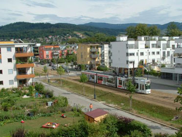 Suburb of Vauban, Freiburg, Germany