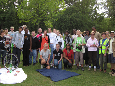 Community picnic St James park 27th Aug