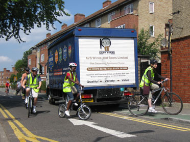 Cycle Highway inspection