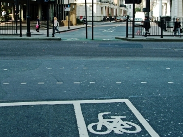 Use cycle lanes if you feel it is convenient or safer Credit: Adrian Lewis