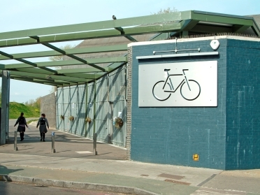 Finsbury Park cycle park Credit: Adrian Lewis