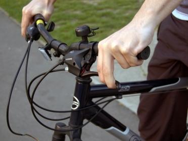 Checking the brakes Credit: Paula Salischiker