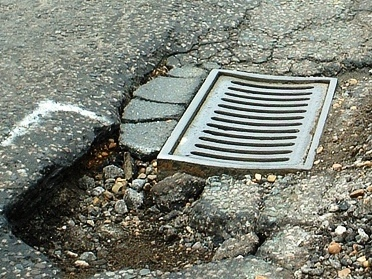 Report potholes to help keep yourself and others safe