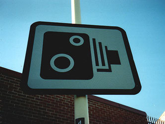 speed camera road sign Credit: grewlike on Flickr