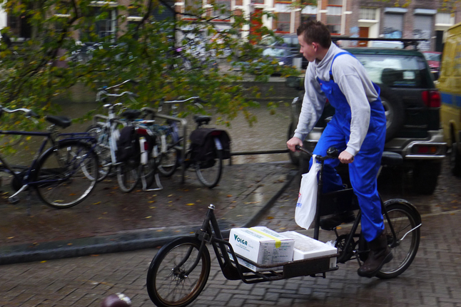 deliveries by bicycle