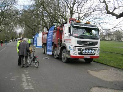 Exchanging Places photo by Philip Benstead @ cycling4ALL
