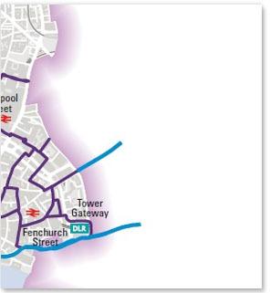 Tower Hamlets BikeGrid routes
