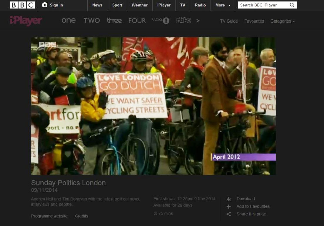 BBC Sunday Politics London
