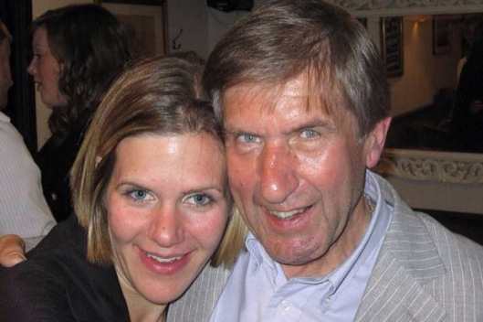 Michael Mason with daughter Anna