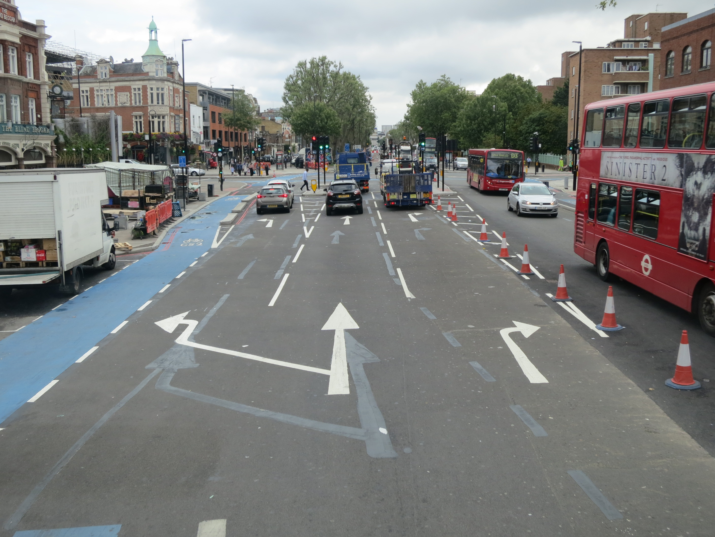 Cambridge Heath junction