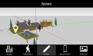 SightSpace 3D Note Screenshot