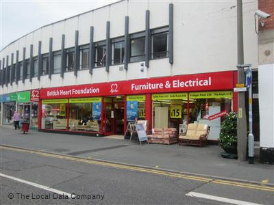 British heart foundation furniture electrical local for Furniture kidderminster