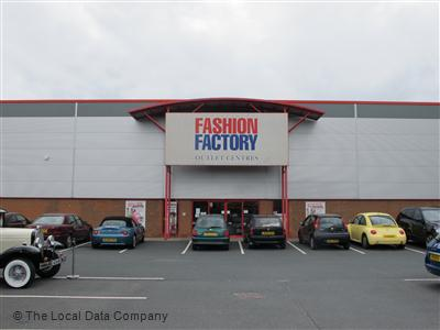 Factory fashion outlet centre cannock