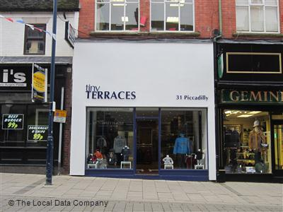 Tiny terraces local data search for Terraces opening times