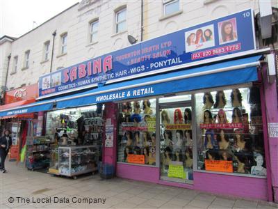 Sabina hair shop croydon opening times