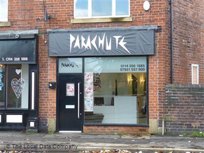 parachute hair salon, Sheffield