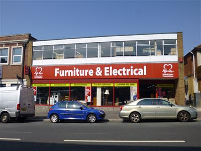 British heart foundation furniture electrical local for Furniture charity shops