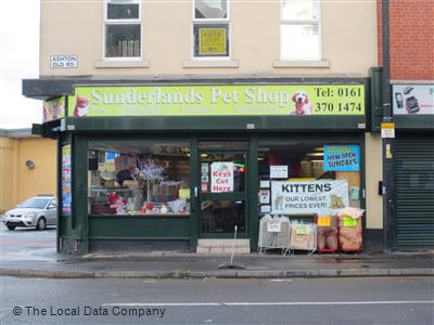 Sunderlands Pet Store