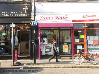 Sam 39 s nails local data search for Acton nail salon