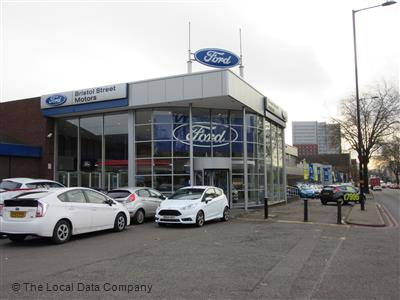 Bristol Street Motors Ford Birmingham Local Data Search