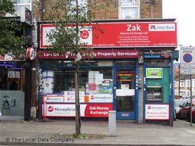 Zak money exchange local data search