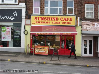The Sunshine Cafe Worcester Park