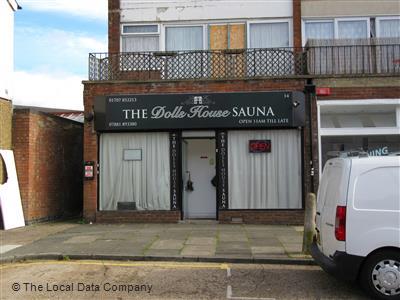 The Dolls House sauna
