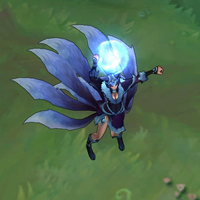 Midnight Ahri skin screenshot
