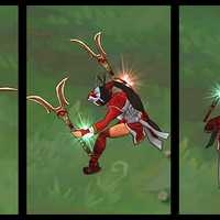 Blood Moon Akali skin screenshot