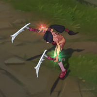 All-star Akali skin screenshot