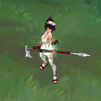 Nurse Akali skin screenshot