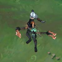Silverfang Akali skin screenshot