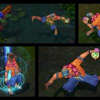 Pool Party Lee Sin skin screenshot