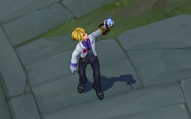 Ezreal Debonair || League of Legends Render by Skychar on DeviantArt