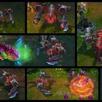 Battlecast Prime Cho'Gath skin screenshot